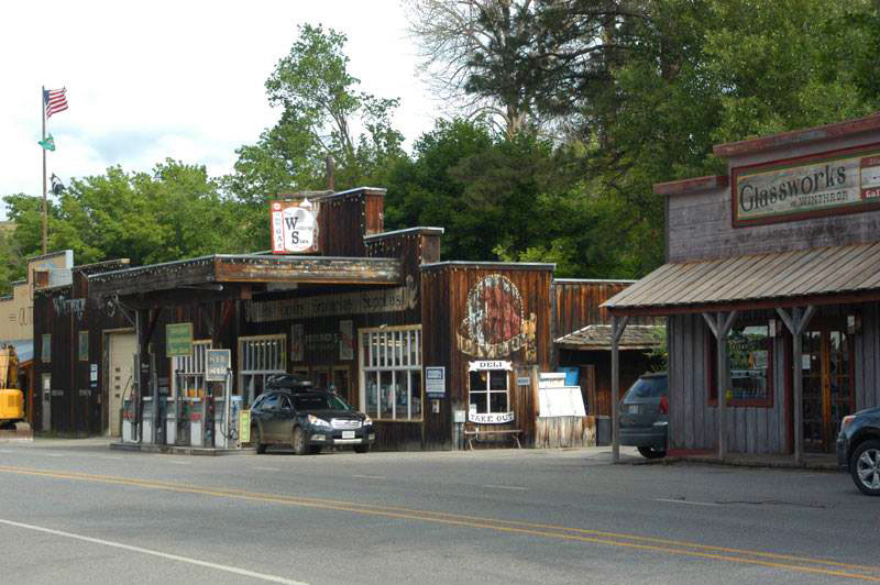 Winthrop Washington, where the whole town is made to look like the old west.