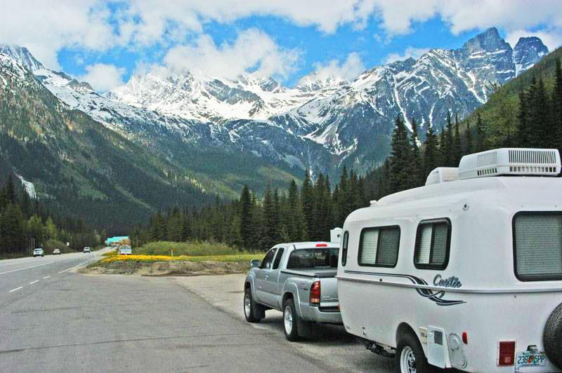 Canadian Rockies - West of Banff