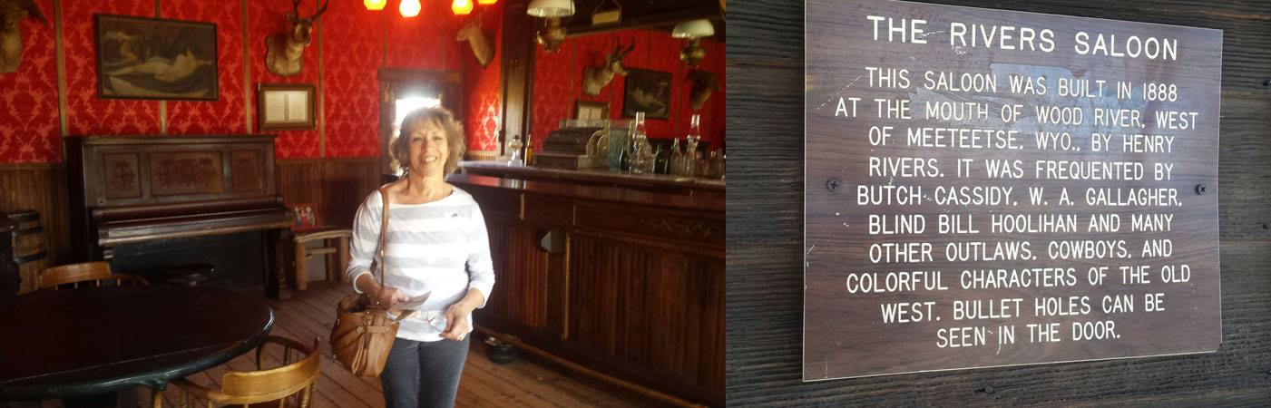 Saloon frequented by Butch Cassidy and the Sundance Kid.