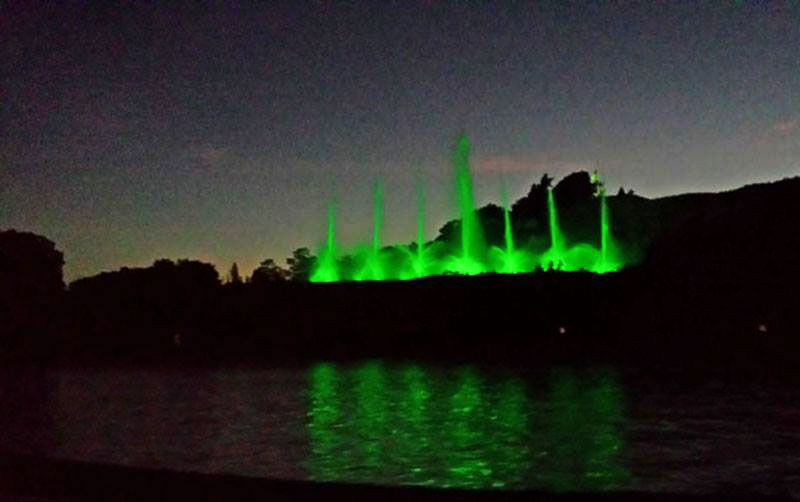 Grand Haven's Musical Fountain