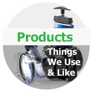 List of products we use and love