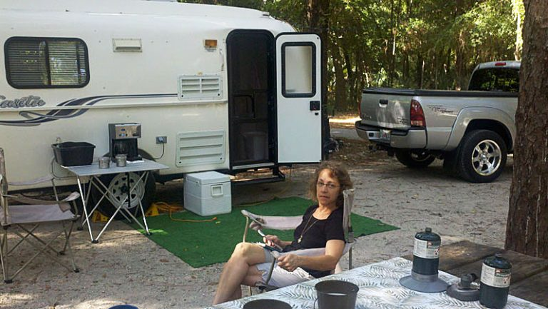 Wekiwa State Park...our favorite of the Orlando campgrounds