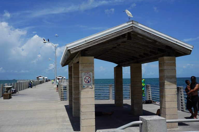 Fishing pier at Fort De Soto