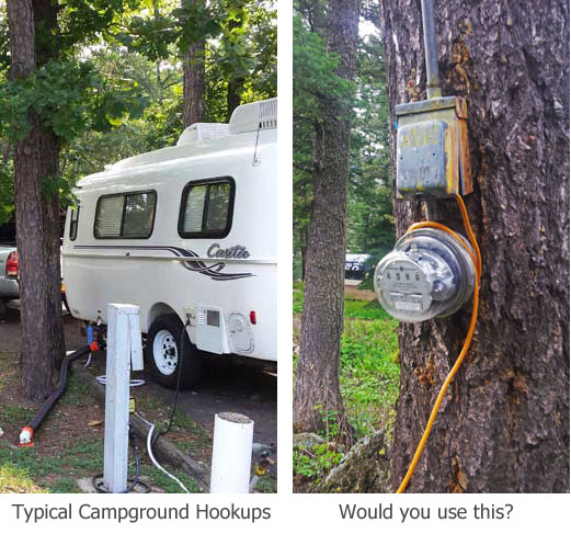 Campground Hookups
