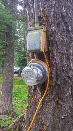 Setting up a small travel trailer - bad electrical hookup