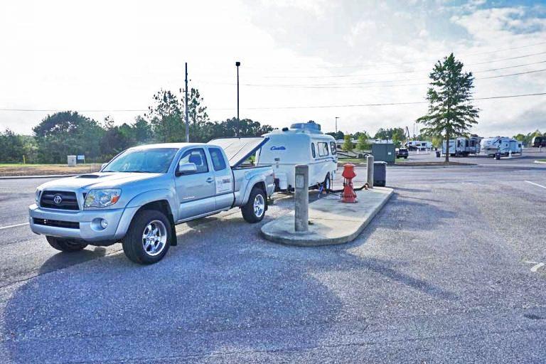 Hoover Met Complex RV Park in Birmingham, Alabama