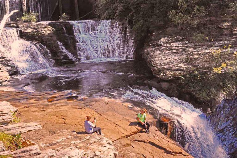DeSoto Falls in northeast Alabama