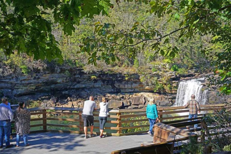 A closer look at the Little River Falls