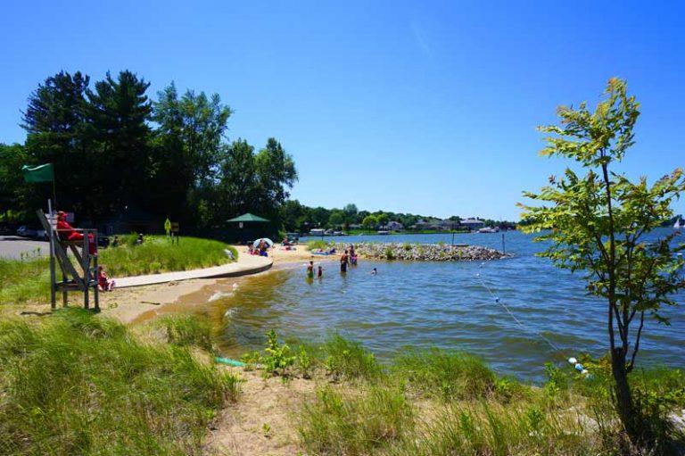 Favorite Things about Spring Lake #3 - Lakeside Beach