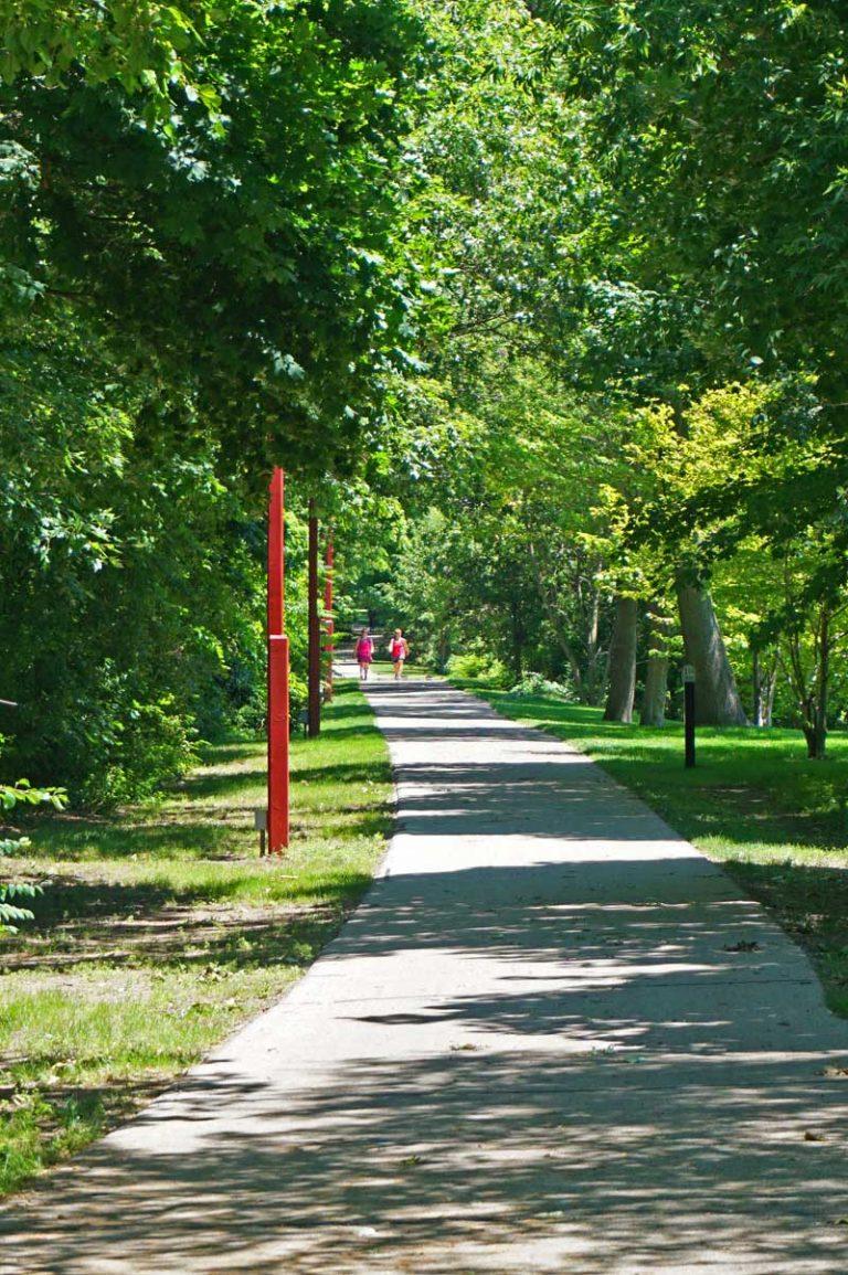 Favorite Things about Spring Lake #2 - The Bike/Walking Path