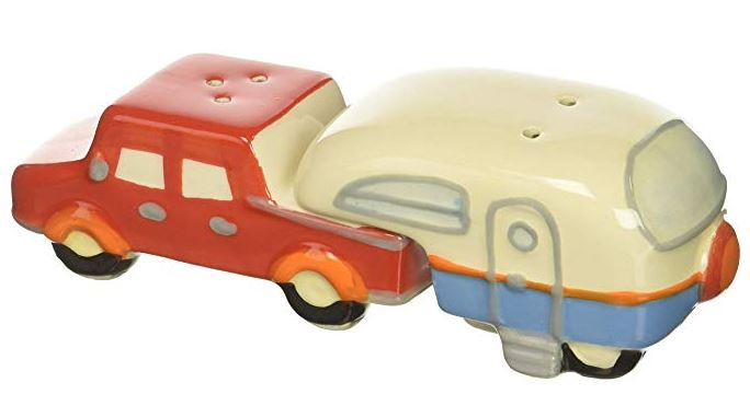 Truck and Camper Salt and Pepper Shakers