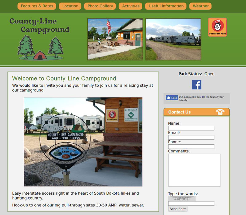 Planning Trips - Campgrounds