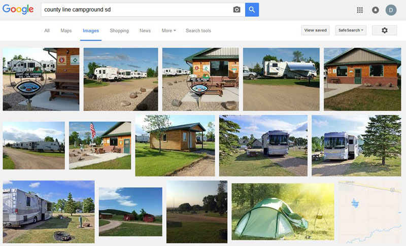 Planning Trips - Google Images