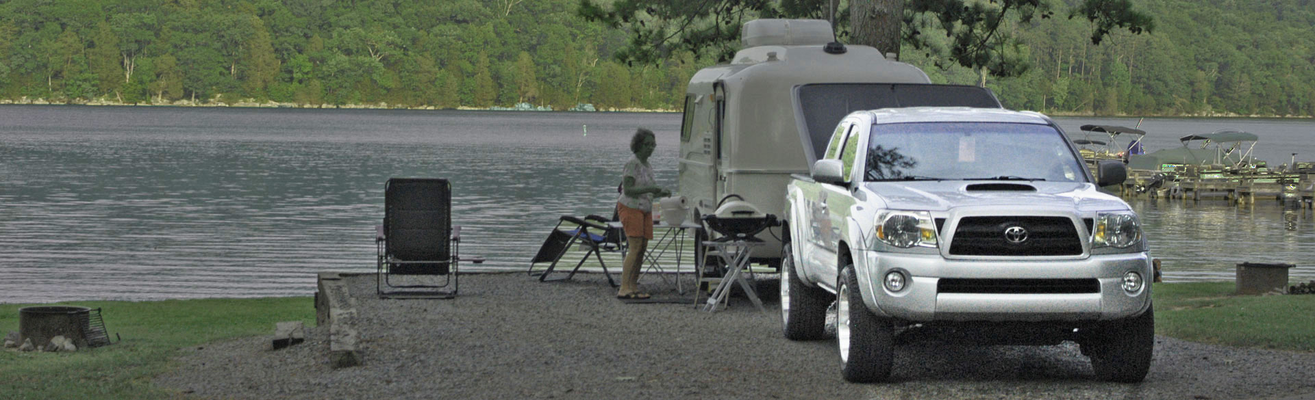 Campgrounds, Trailers and RVs