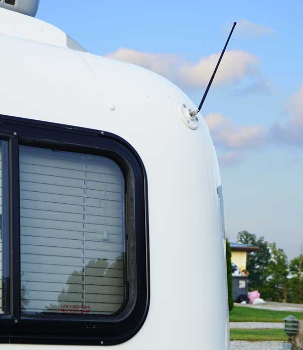 Our Simple TV Antenna for our Small Travel Trailer