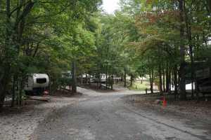 Campground-Seasonal sites area
