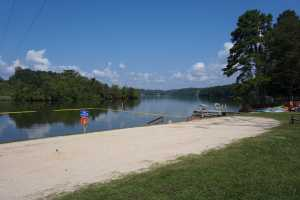 Recreation - Small beach and swimming area