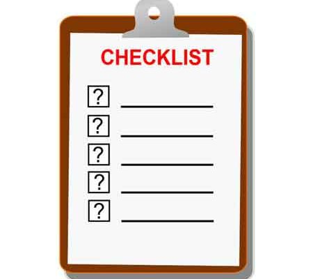 Small Travel Trailer Packing and Traveling Checklists